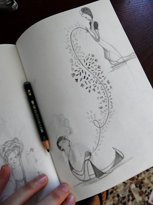 sketch di primavera